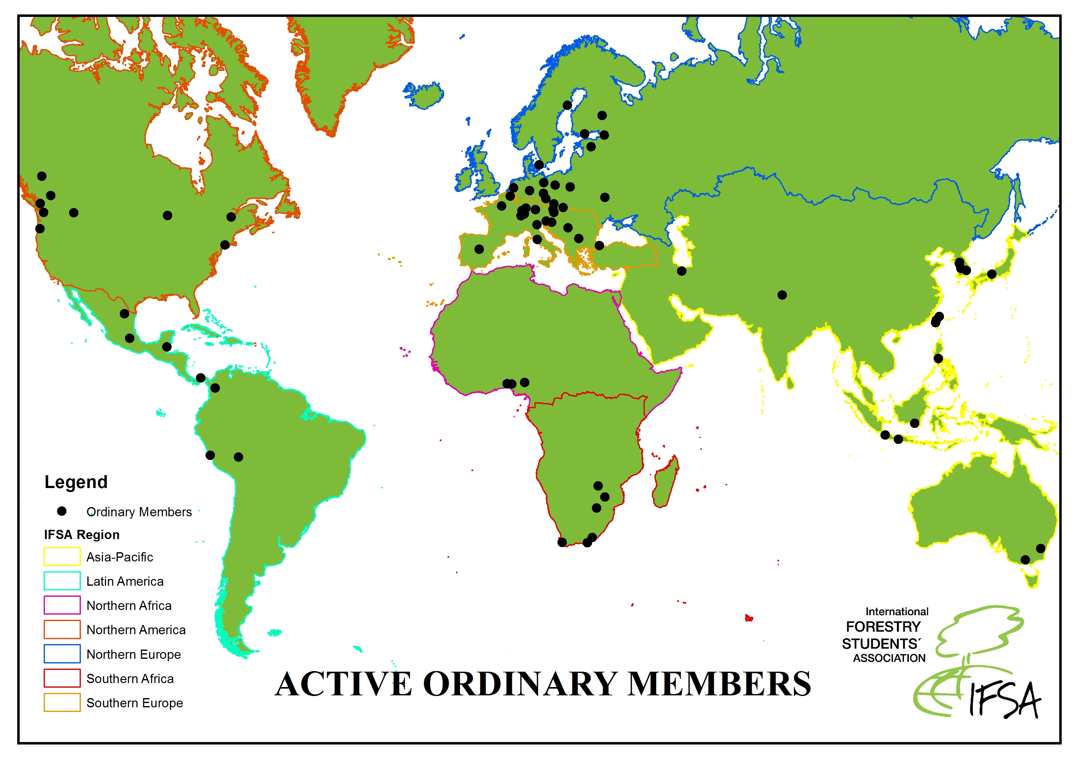 Active Ordinary Members 2